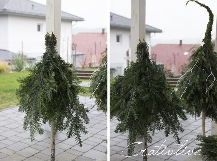 Die Besten 25+ Weihnachtsdeko Hauseingang Ideen Auf