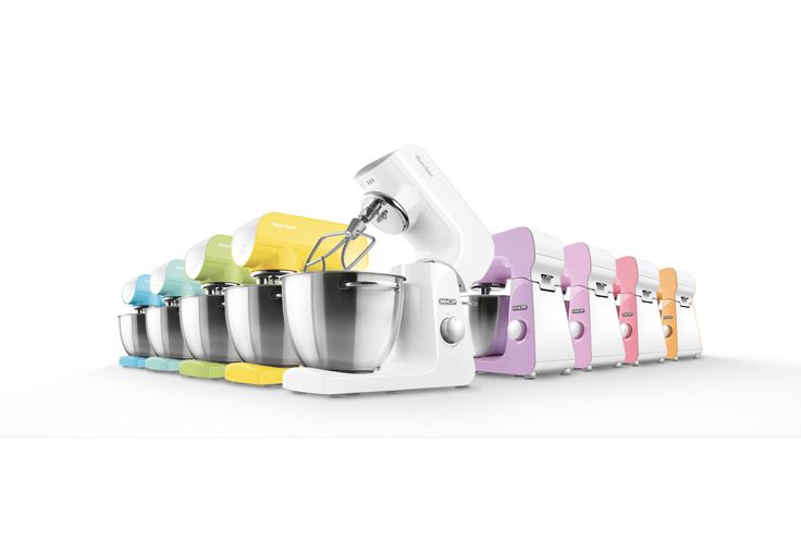 PASTEL STAND MIXERS PICK YOUR FAVORITE COLOR  A helper with a heart of steel and a powerful, resilient motor. It does what you tell it to. Click on the color you like best, and the appliance will appear in all its beauty.