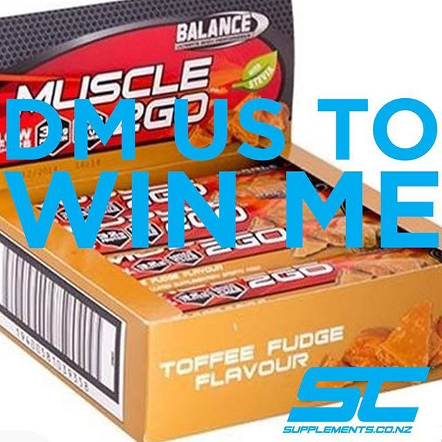 WIN ME!  Just like and tag a mate and it could be you receiving these yummy bars ;-) and Save on Balance all Month long,  Plus wanna Win a Nutribullet this Feb with Supplements.co.nz and Balance Sports Nutrition?  Just purchase any Balance product from us to have a chance to Win!  @balancesportsnutrition  @_nicolehitchcock  @roshiedalts @jademead1  @beata.look @beccrossley  #trainmeanrecoverclean #protein #nzgrassfedwhey #madeinnz #fitnessmotivation #fitnessmodel #functionalfitness…