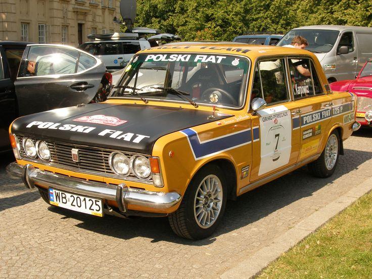 Polski Fiat 125p Monte Carlo