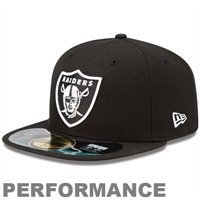 New Era Oakland Raiders On-Field Performance 59FIFTY Fitted Hat