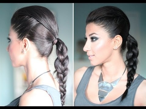 Edgy hairstyle video tutorial: Edgy Up Do, Celebrity Inspiration, Simple Edgy, Videos Tutorials, Hair Style, Everyday Hair, Edgy Hairstyles, Edgy Updo, Youtube Link