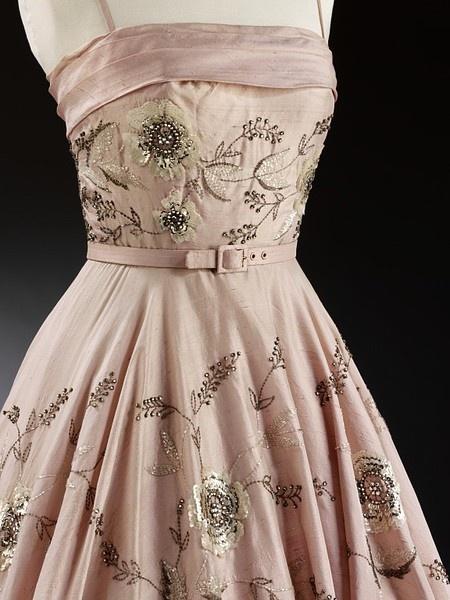 ca. 1955 Evening dress, Owen Hyde Clark