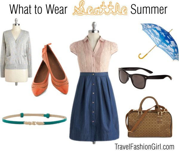 What to Pack for Seattle in Summer: A Local's Approved Packing Guide #travel #packinglist via TravelFashionGirl.com