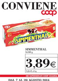 Carne Simmenthal con lo sconto in Coop Casarsa