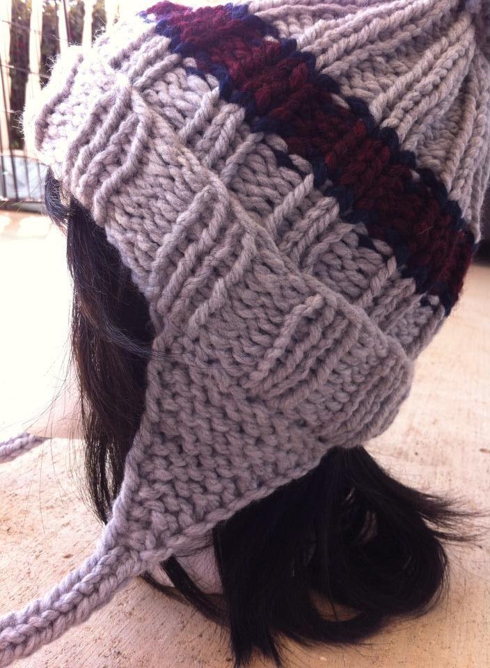 108 Best Loom Knit Patterns Images On Pinterest Loom Knitting