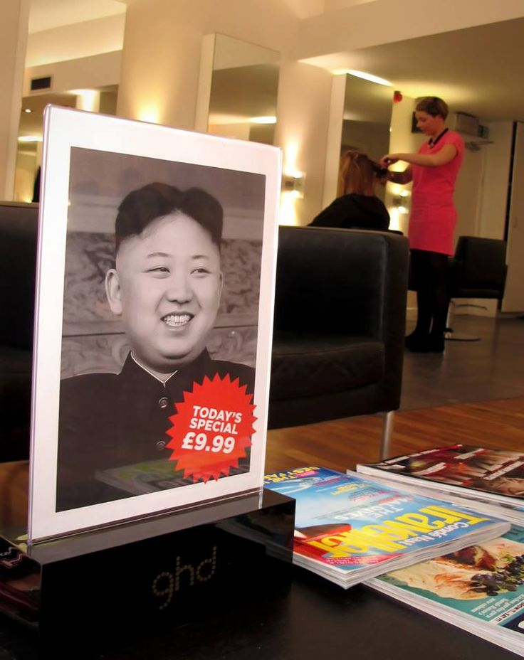 In the meantime at my local hairdresser...  Click for more Funny Pictures --> http://www.funnypicshub.com