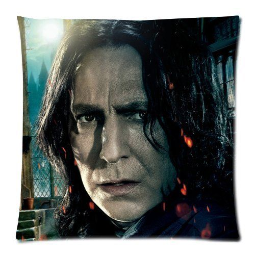 Every New Day Harry Potter Severus Snape Unique Custom Zippered Pillow Cases 18x18 inches(45x45cm) (Two sides) * To view further, visit now : DIY : Do It Yourself Today