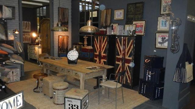 La decoración vintage e industrial de Dialma Brown