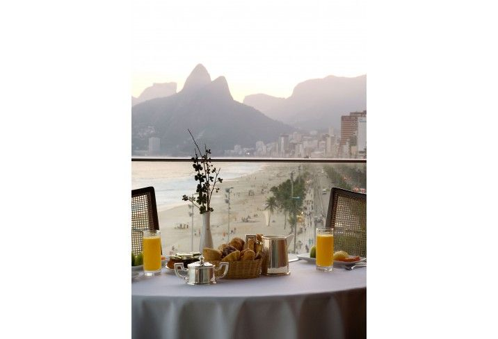 Fasano Rio is a Starck-styled Brazil boutique hotel with a rooftop pool and a…