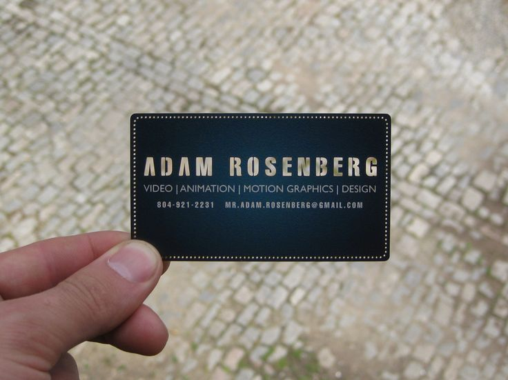 paper business card personal