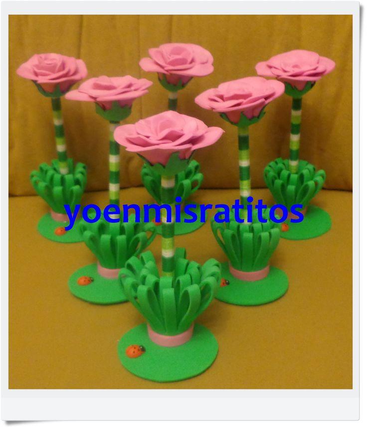 Fofubolis Rosas rosas