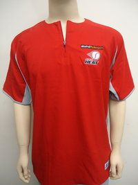 Russell Athletic Perth Heat Zip Placket Jersey