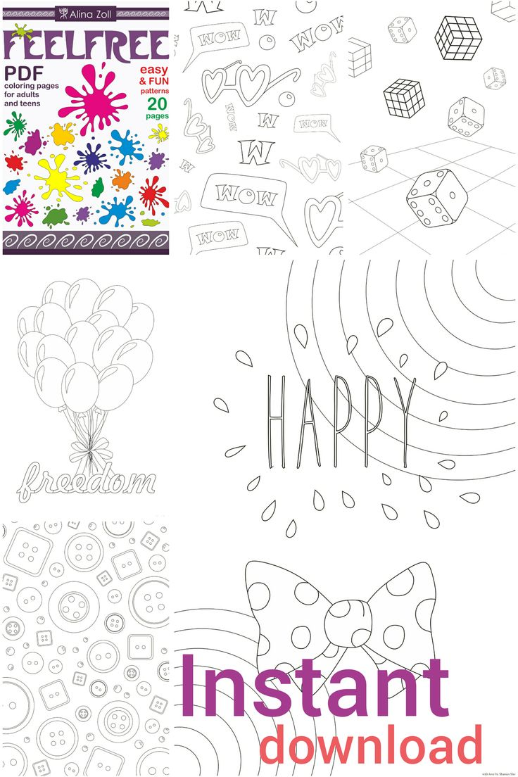 Jungle book coloring pages coloringpagesabc com - Fun Adult Coloring Book Digital Download Pdf Simple Coloring Pages For Grown Ups