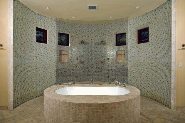 Mosaikfliesen In Ihrem Badezimmer In 2020 Badezimmer Fliesen Mosaikfliesen Badezimmer