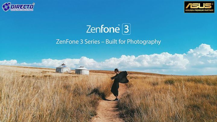 Built for photography! All Asus Zenfone 3 series are made with excellent camera and rich features photography software!  For more info or to place an online order, please visit our website via this link: http://www.directd.com.my/z3n-series   or simply wa