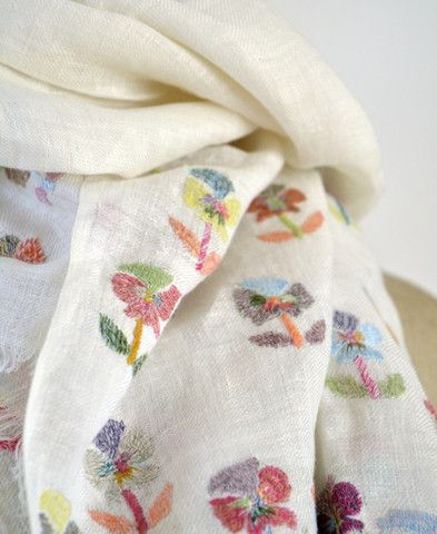 Sophie Digard / echape linen pansy