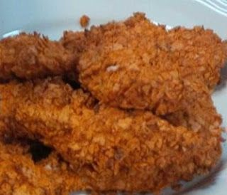 Dots and Daisies: Dorrito Crusted Chicken Breast