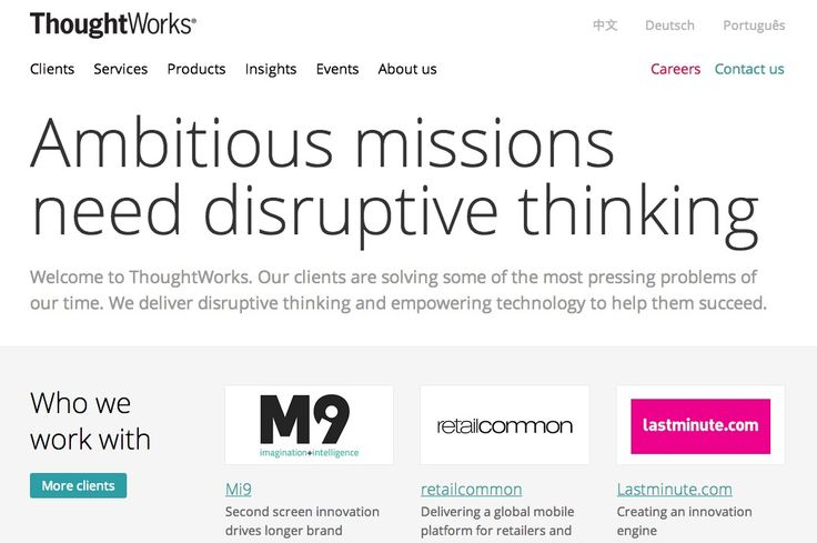 http://www.thoughtworks.com/ #worldwide