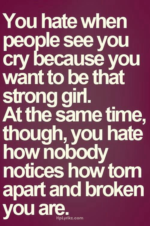 Broken Girls Quotes Life Quotes Stunning Strong Quotes About Life