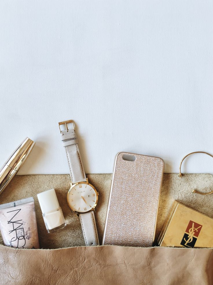 Beige favourites! Whats in your bag? Feat Siena Rose Watch
