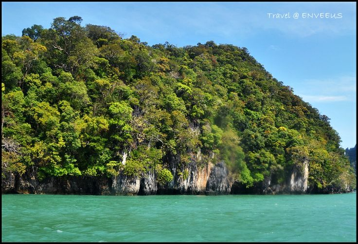 One of the islands in Langkawi, Malaysia