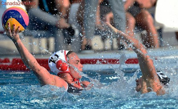 Watch Canada's women's water polo team in the quarter-finals at worlds