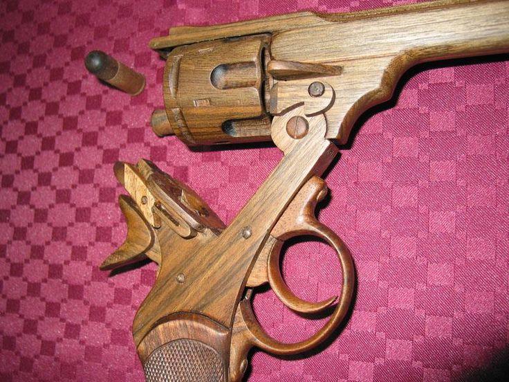 Wooden Toy Gun Patterns - Downloadable Free Plans