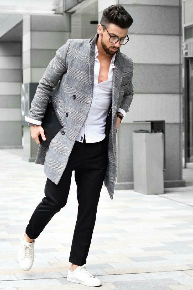 how to wear winter coat for men.. #mensfashion #style