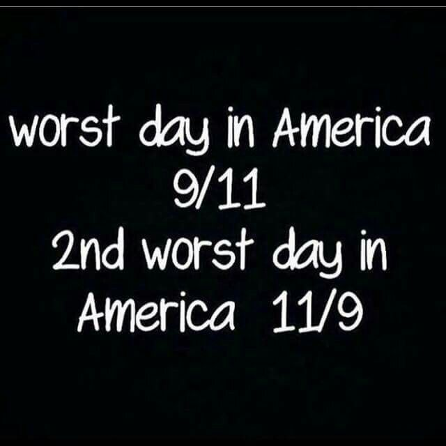 Please, pearl Harbor, Presidents have Presidents been assassinated, Oklahoma City Bombing, Boston marathon,  Pearl Harbor, wow, someone lost an election and people have the nerve to compare these two days ! get a Grip!!!!