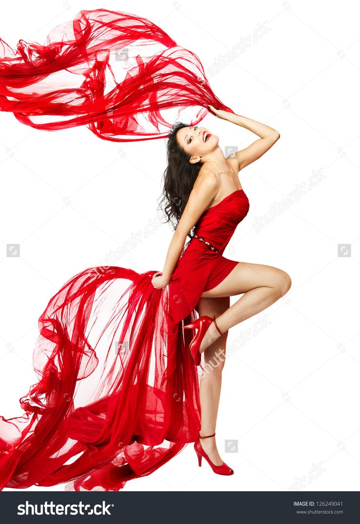 stock-photo-woman-in-red-dress-dancing-with-fabric-flying-on-a-wind-flow-isolated-over-white-background-126249041.jpg (1100×1600)