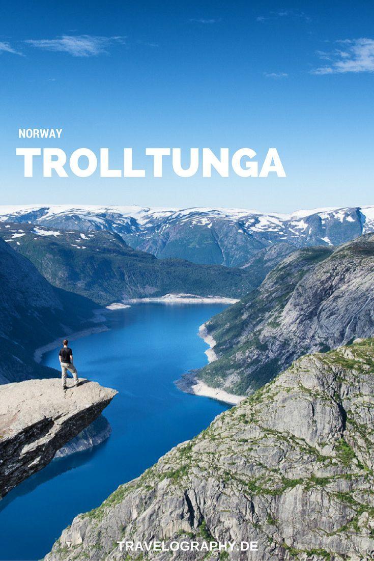 Unsere Wanderung zur Trolltunga - Erfahrungsbericht & Tourenbeschreibung #Norway #Trolltunga #Norwegen