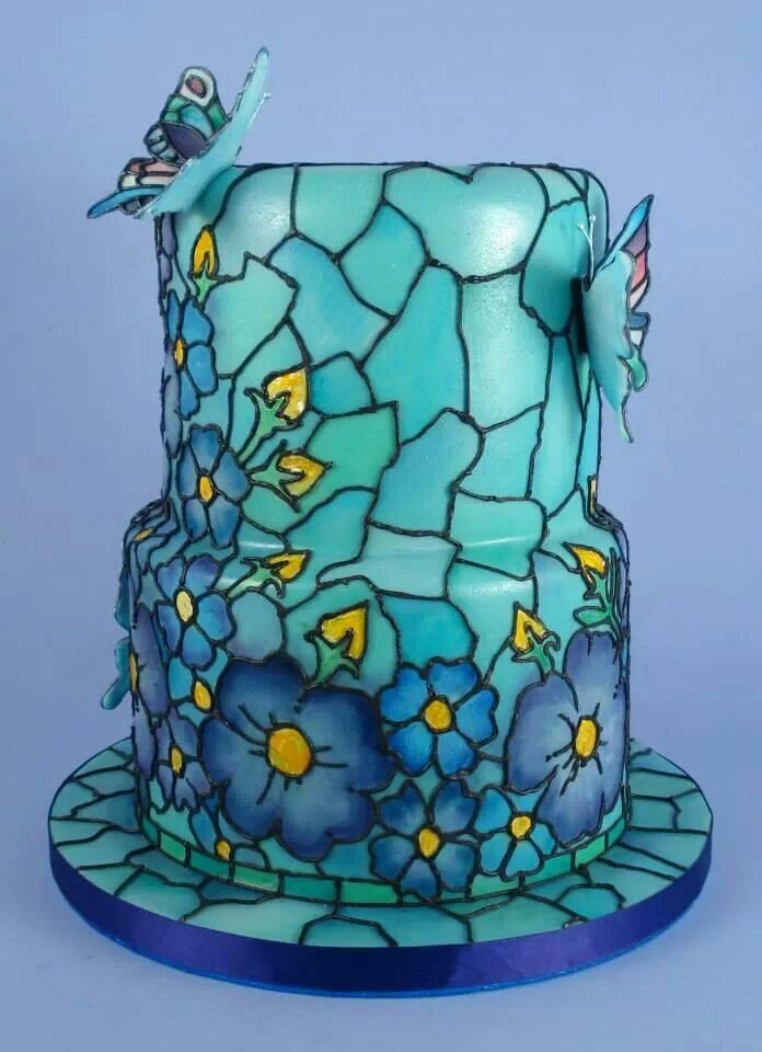..Stained glass. Tiffany style