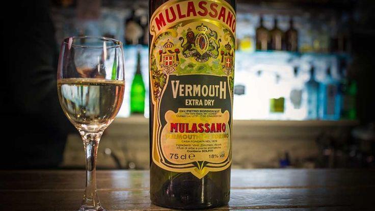 Vermouth Mulassano extra dry recensione commento e prezzo, vermut italiano