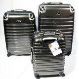 $198.99 Hard Case Luggage Set 3 PC Expandable 4 Wheel Spinner Bag Travel Black ! PC930BK