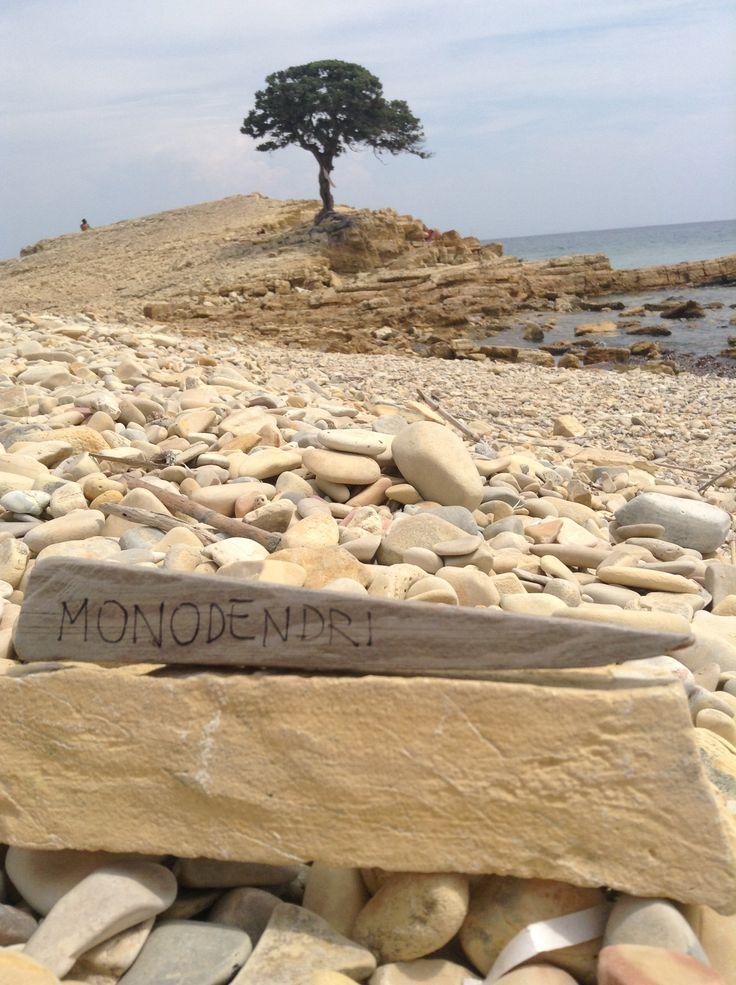 Monodendri beach, Lipsi, Greece