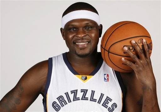 Former #Spartan Zach Randolph for the Memphis Grizzlies