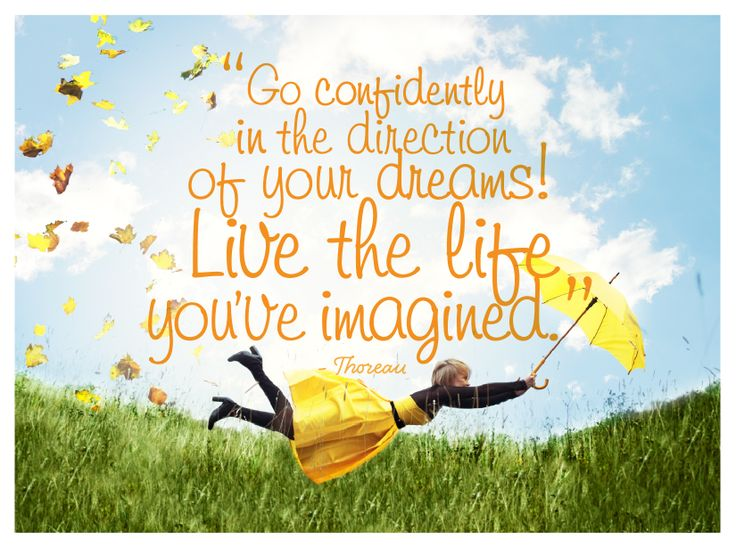 """Live the life you've imagined"" by Lauren Proctor for Open Colleges #inspiration #quote #thoreau #opencolleges"