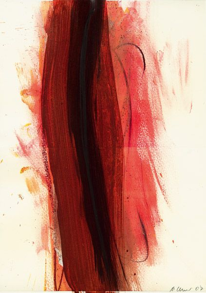 Arnulf Rainer. Untitled. 2007