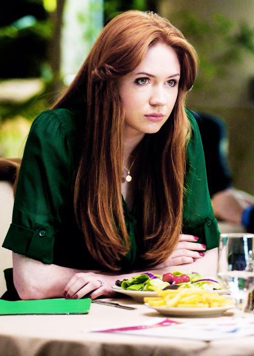 """{Open} I mindlessly poke my salad, thinking about everything. """"Such a concentrated look..."""" I look up, raising an eyebrow at you as you sit across from me. """"Yes?"""""""