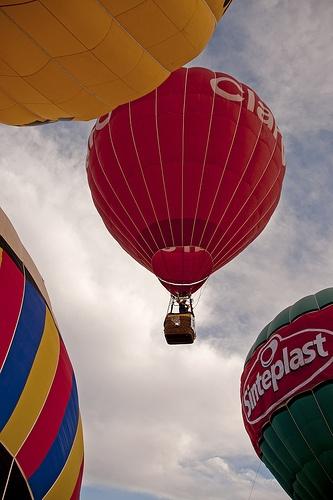 Festival de globos aerostáticos