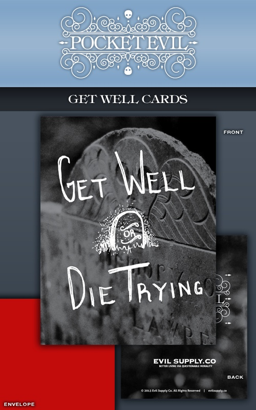 Image of Pocket Evil: Get Well or Die Trying (5-pack)