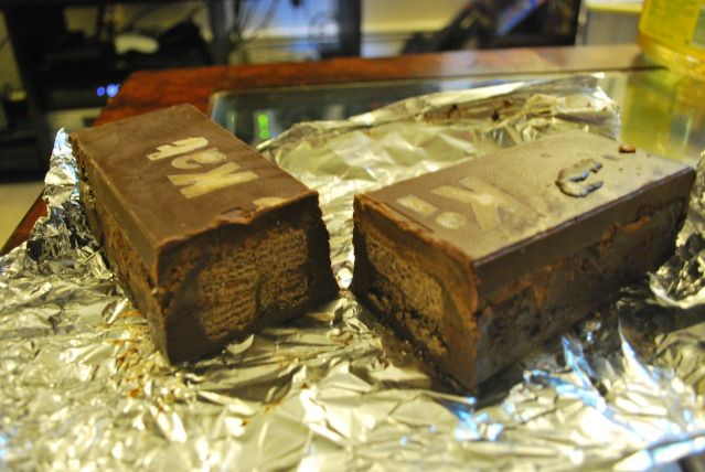 Trial & Error Creativity: How to Make a Giant Kit-Kat Bar and Reese's Peanut Butter Cup
