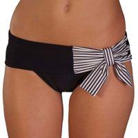 Bow bikini bottom