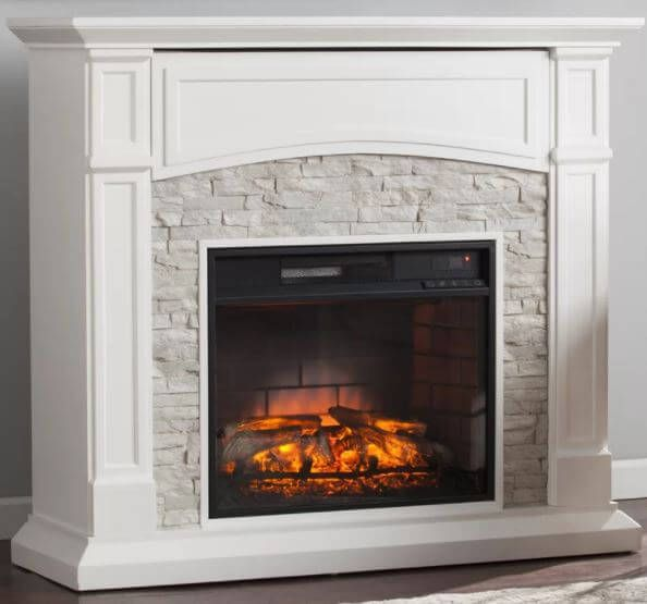 Best 25+ Stone electric fireplace ideas on Pinterest ...