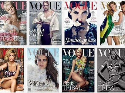Fashion Mags Are Still Using Mostly White Cover Models