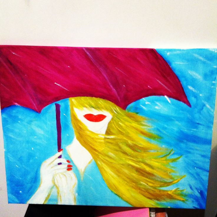 This painting idea came from 2 different painting I saw on web, live the result ;) painted by moi