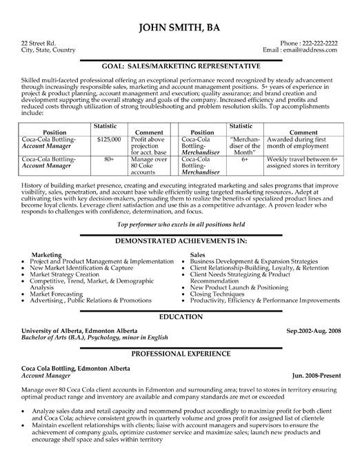 Account Manager resume template. Want it? Download it.