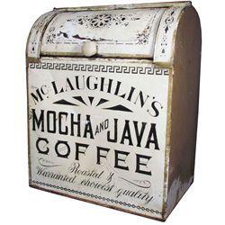 McLaughlin's Mocha & Java Coffee Store Bin