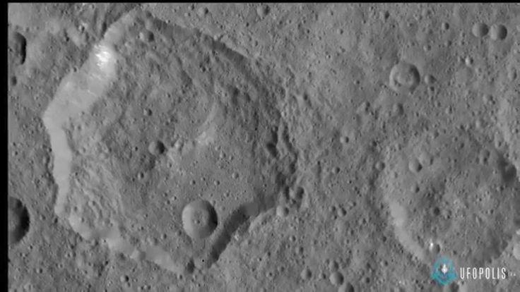 Hexágonos imposibles en el planeta Ceres